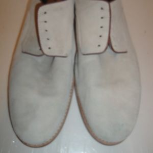 Johnston & Murphy Gray Sheepskin Leather Oxford